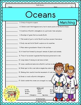 Oceans Matching