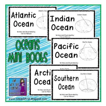 Oceans Mini Book Set (5 Emergent/Easy Readers)