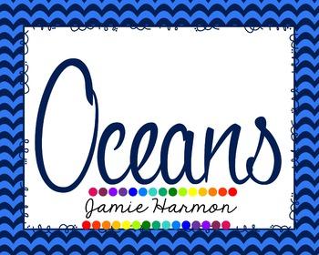 Oceans Mini Chart Set