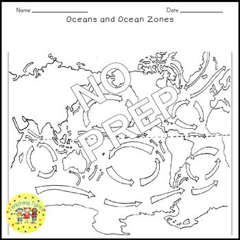Oceans and Ocean Zones Crossword Puzzle