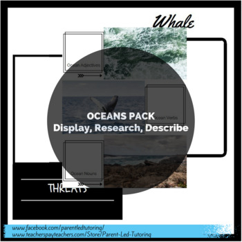 Oceans Pack (Display, Research, Describe)