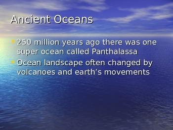 Oceans Power Point