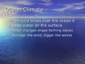 Oceans Power Point