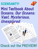 Mini-Textbook about Oceans: Cover everything your students