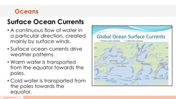 Oceans - Supplemental Lesson - No Lab