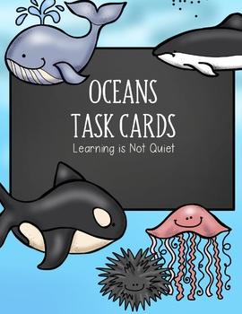 Oceans Unit Task Cards (SCOOT)