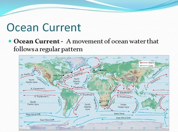 Oceans Unit;Ocean and Oceans Currents