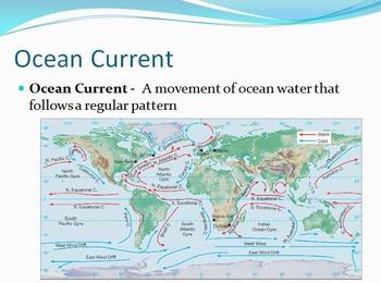 Oceans Unit;Ocean and Oceans Currents