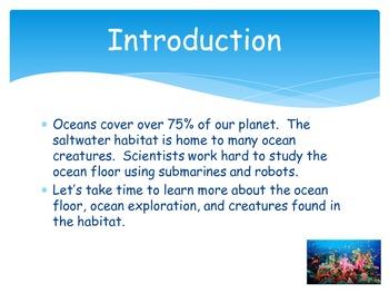 Oceans WebQuest