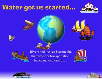 World Rivers, Lakes,Oceans, and Bays-Power Point Lesson