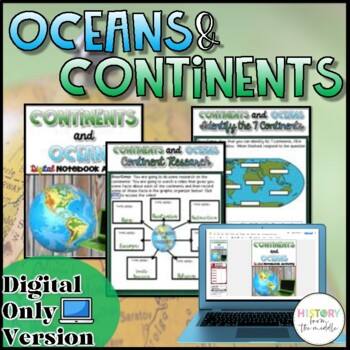 Oceans and Continents {Google Drive}