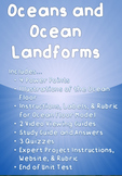 Oceans and Ocean Landforms