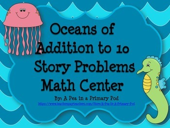 Addition to 10 Story Problems
