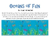 Oceans of Fun Plural Sort (-s and -es)