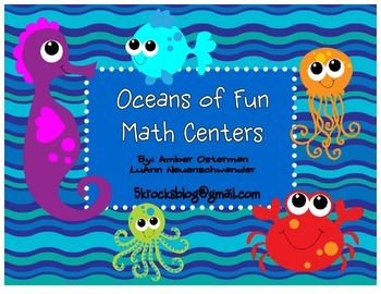 Oceans of Fun - Splish Spashin' Math Centers