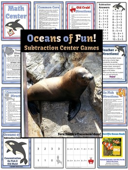 Subtraction Center Games For Oceans of Fun