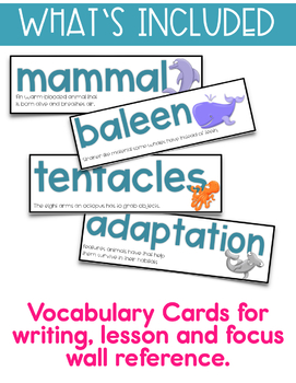 Word Work and Grammar Activities and Games - Oceans of Fun