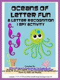 Oceans of Letter Fun-A Letter Recognition I-Spy Activity