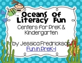 Oceans of Literacy Fun: Common Core Aligned Centers for Pr