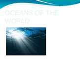Oceans of the World Powerpoint