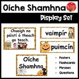 Oíche Shamhna (Halloween Poster Set Irish) Gaeilge