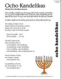 Ocho Candelikas – A Hanukkah Song from Spain