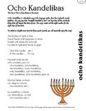 Ocho Kandelikas - Hanukkah Song Lyric Sheet