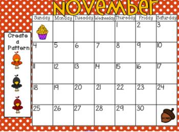 Oct.-Dec. 2018 Calendar Pages