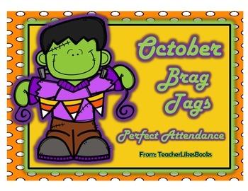 Oct Perfect Attendance Freebie