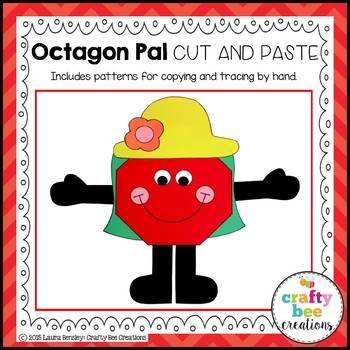 Octagon Pal Cut and Paste