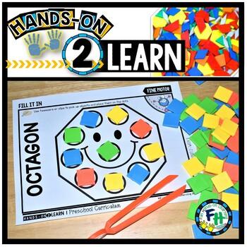 Octagon Art Projects For Preschool