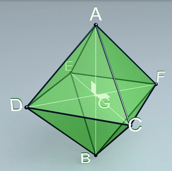 Octahedron (3d video model)