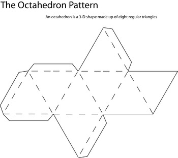 Octahedron Pattern By Debra Cline