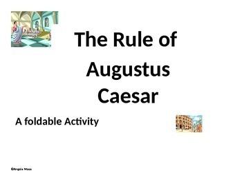 Octavian- Augustus Foldable
