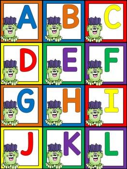 Halloween Centers for Kindergarten - Differentiated Worksheets and Activities