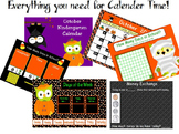 October 1st Grade Calendar for ActivBoard