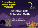 October 2015 Calendar for the  Promethean Board (ActivBoard)