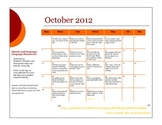 October 2012 Speech and Language Homework