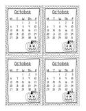 October 2014 Homework Chart