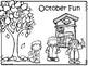 October 2017 Kids Calendar
