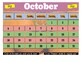 October 2020 Interactive Calendar/Lesson Planner-For any Class (Google Slides)
