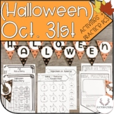 October 31st (Halloween) Activity Pack