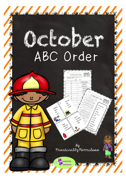 October - ABC Order