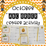 October ABC Order Center