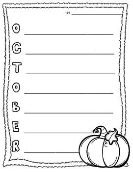 October Acrostic Poem