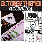 October Activities | Halloween Activities