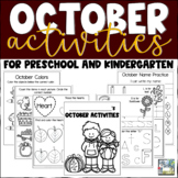 October Activities for Preschool and Kindergarten