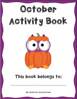 NO PREP October Activity Book