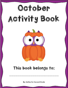 NO PREP October Activity Book