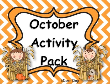October Activity Pack